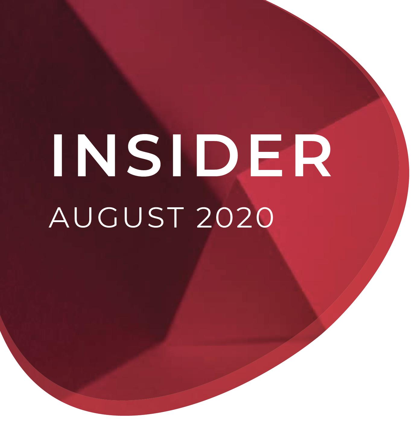 August Insider 2020